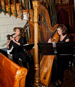 Harp and Flute